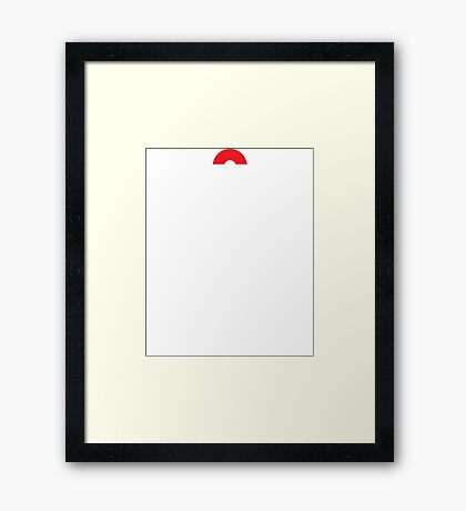 Keep Calm and Pokemon Framed Print