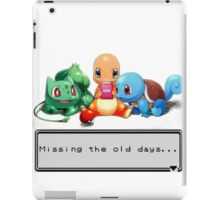 Missing the old days... iPad Case/Skin