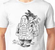 Grandpa Gohan and kid Goku Unisex T-Shirt