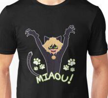 Miaou! - Chat Noir Unisex T-Shirt