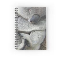 Sleeping Koala Spiral Notebook