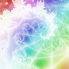 Lacy Rainbow Spiral by Dana Roper