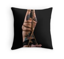 Elongated Suspension Rope Throw Pillow