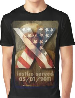 Justice Served. Graphic T-Shirt