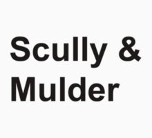 Scully & Mulder by danadumaurier