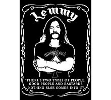 Lemmy (People...) Photographic Print