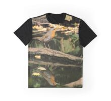 Erithacus rubecula Graphic T-Shirt