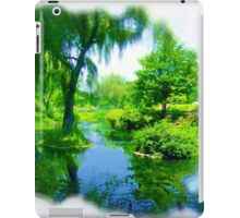 Quiet Time in the CIty iPad Case/Skin