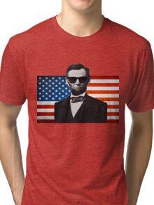 Abroham Lincoln Tri-blend T-Shirt