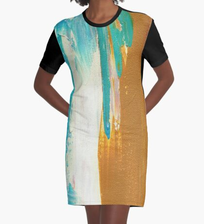 Dockweiler Beach Graphic T-Shirt Dress