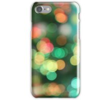 Colourful Bokeh iPhone Case/Skin