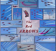 A Red Arrows Poster by Chris Lord
