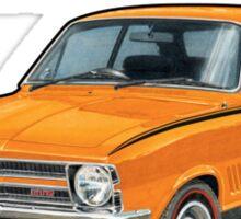 Holden LC Torana in orange Sticker