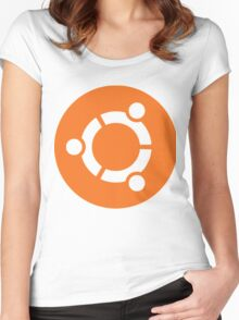 Ubuntu Linux Women's Fitted Scoop T-Shirt