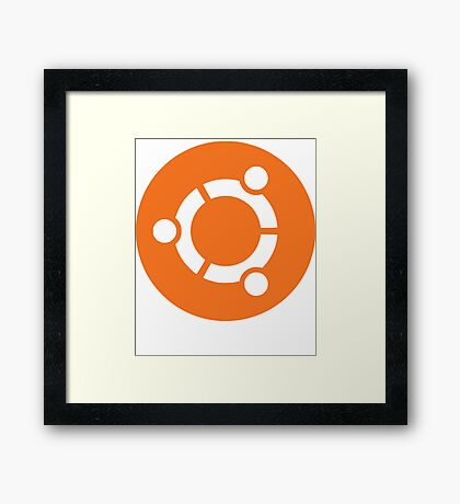 Ubuntu Linux Framed Print
