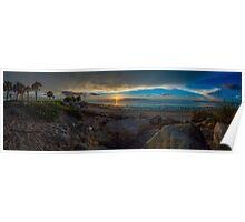Florida Sunshine After The Storm Poster