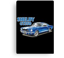Ford Shelby Mustang GT350 Canvas Print