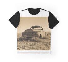 Antique Studebaker Truck in the Desert Graphic T-Shirt