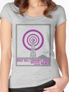 Night Vale Community Radio Women's Fitted Scoop T-Shirt