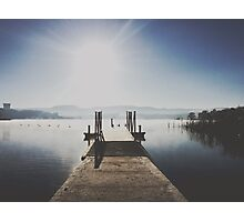 The Boat Ramp, Lake Wallace, Wallerawang Photographic Print