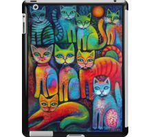 Colourful Kittens iPad Case/Skin