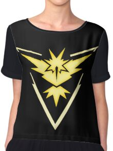 Team Instinct | Pokemon GO Chiffon Top