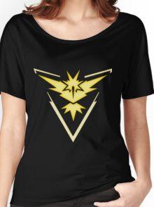 Team Instinct   Pokemon GO Women's Relaxed Fit T-Shirt