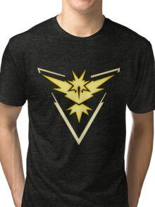 Team Instinct | Pokemon GO Tri-blend T-Shirt