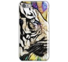 Tiger numero quatro iPhone Case/Skin