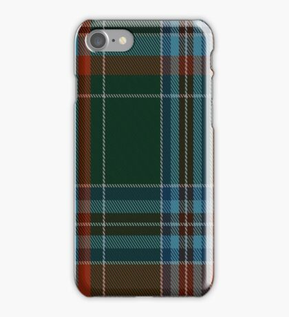 02069 Wedding Dress (1776) Tartan iPhone Case/Skin