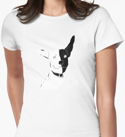Two-tone Womens Fitted T-Shirt