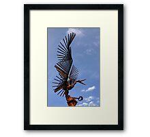 Bird Sculpture 1 Framed Print