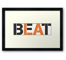 Beat LA (stencil style) Framed Print