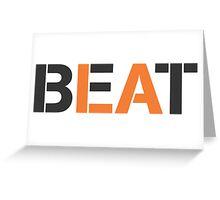 Beat LA (stencil style) Greeting Card