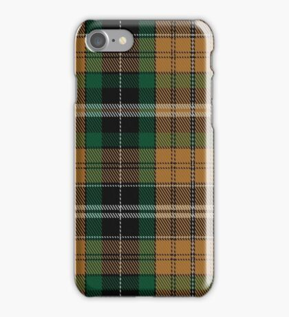 02160 Vaughan (Welsh Series) Tartan iPhone Case/Skin