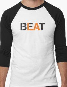 Beat LA (stencil style) Men's Baseball ¾ T-Shirt