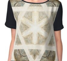 Star of David Chiffon Top