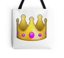 Crown emoji  Tote Bag