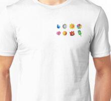 Gym Badges Unisex T-Shirt