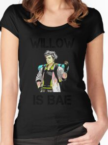 """Professor Willow is Bae"" Pokémon GO Women's Tee Women's Fitted Scoop T-Shirt"