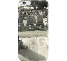 Soto Zen Temple Graveyard iPhone Case/Skin