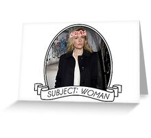 Gillian Anderson: Stella Gibson Series Greeting Card