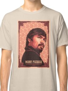 Manny Pacquiao Portrait Classic T-Shirt