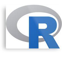 R Programming Language Metal Print