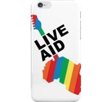 Live Aid Concet 1985 iPhone Case/Skin