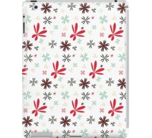 Retro Flower Pattern iPad Case/Skin
