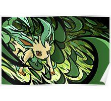 Leafeon | Razor Leaf Poster