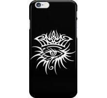 Bob Dylan Logo White iPhone Case/Skin