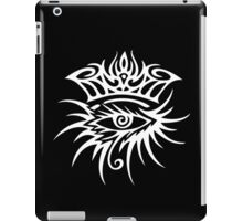 Bob Dylan Logo White iPad Case/Skin