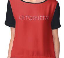 Antoinette Chiffon Top